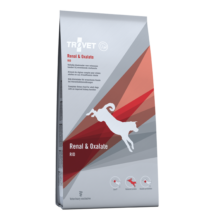 TROVET RENAL& OXALATE DIET/RID száraztáp felnőtt kutyáknak 12,5 kg a veseműködés támogatására