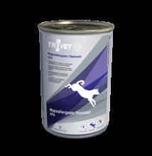 TROVET Hypoallergenic VENISON&POTATO Diet/VPD kutyáknak 12 x 400 g konzerv, hipoallergén vadhússal