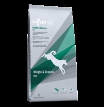 TROVET WEIGHT& DIABETIC Diet./WRD száraztáp kutyáknak, 3 kg