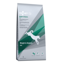 TROVET WEIGHT& DIABETIC Diet./WRD száraztáp kutyáknak, 3 kg 2 db