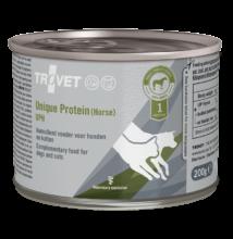TROVET UNIQUE.PROTEIN HORSE/ UPH  6 x 200 g Hypoallergén (monoprotein) konzerv kutyáknak és macskáknak