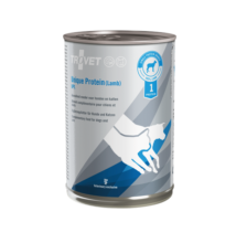TROVET UNIQUE PROTEIN  LAMB/ UPL   6  x 400 g Hipoallergén monoprotein konzerv kutyáknak és macskáknak