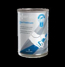 TROVET UNIQUE PROTEIN  LAMB/ UPL  400 g Hipoallergén (monoprotein) konzerv kutyáknak és macskáknak