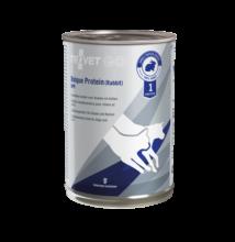 TROVET UNIQUE PROTEIN RABBIT /UPR  400 g Hipoallergén monoprotein konzerv kutyáknak és macskáknak
