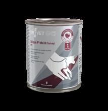 TROVET Unique Protein TURKEY UPT D/C 800 g hipoallergén konzerv kutyáknak és macskáknak