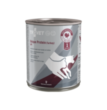 TROVET Unique Protein TURKEY UPT D/C 800 g hipoallergén konzerv kutyáknak és macskáknak 6 db