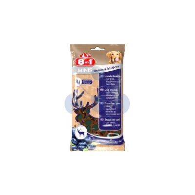 8in1 Minis Venison & Blueberry jutalom falat 100 g