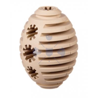 Barry King jutifalat adagoló extra erős gumi rugby játék, bézs (M) 10-11 cm