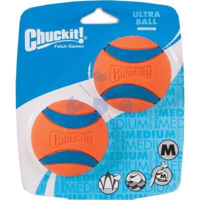 """Chuckit! Ultra Ball Duo gumilabda """"Az elnyűhetetlen"""" M méret, 2 db"""