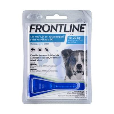 Frontline Spot-on kutyák részére  1 pipetta, 10-20 kg. M