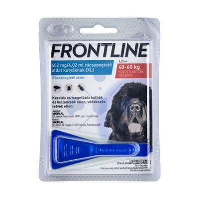 Frontline Spot-on kutyák részére 1 pipette,  40-60  kg. kutyák részére XL-es méret