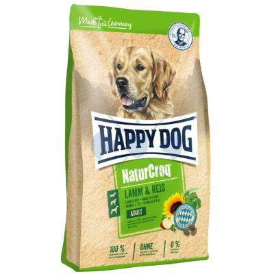 Happy Dog NaturCroq Lamm & Reis (Bárány és Rizs) 15kg