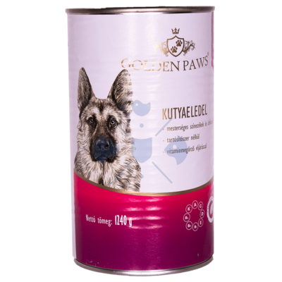 Josera Golden Paws ECO Dog marhahússal 1240g  felnőtt kutyák  részére