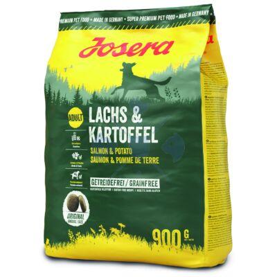 Josera Dog Salmon&Potato   900 g száraztáp kutyák részére, Lazac/Burgonya