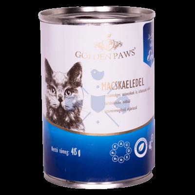 Josera Golden Paws ECO Cat Hal, 415 g Teljes értékű konzerv táp felnőtt macskák részére