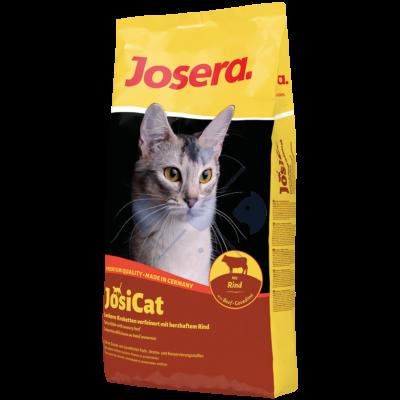 JosiCat Tasty Beef  650g száraztáp felnőtt macskák részére
