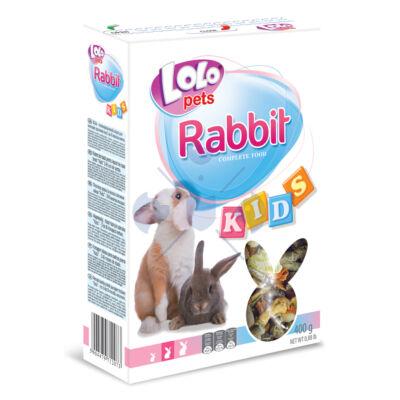 Lolo Rabbit KIDS - Kölyök nyulaknak  (3-8 hónapos) 400 g