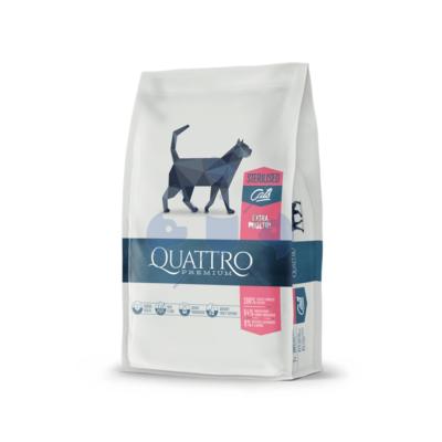 Quattro Cat  Adult Sterilized Extra Poultry 1,5 kg