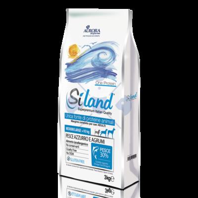 SILAND One Protein Pesce Adult Medium/Large 3 kg Hallal és citrusfélékkel 2 db !