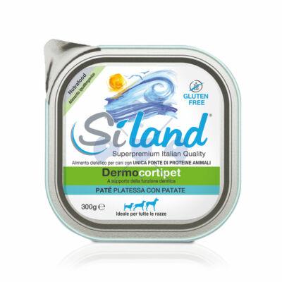 SILAND Dermocortipet  Hipoallergén MONOPROTEIN konzerv kutyáknak tengeri hallal és burgonyával 300 g