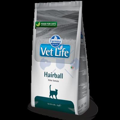 Vet Life Natural Diet Cat Hairball 400g száraz táp