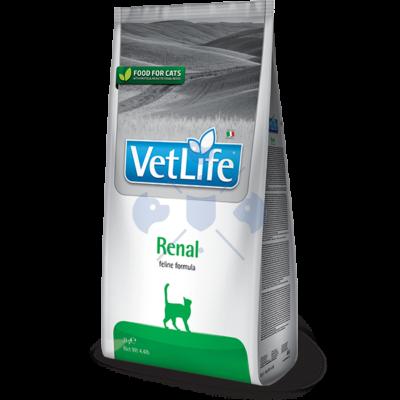Vet Life Natural Diet Cat Renal 400g száraz táp