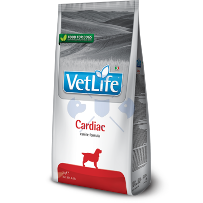 Vet Life Natural Diet Dog Cardiac 2kg száraz táp