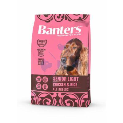 VISÁN BANTERS DOG SENIOR LIGHT CHICKEN & RICE 3 kg