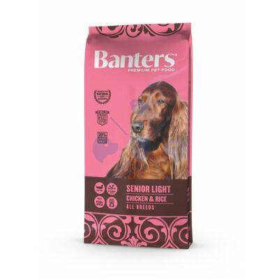 VISÁN BANTERS DOG SENIOR LIGHT CHICKEN & RICE 15 kg
