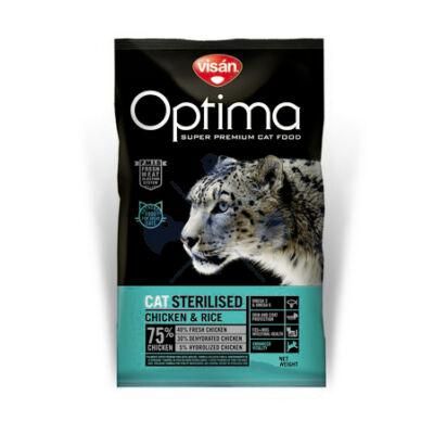 Visán Optimanova Cat Sterilised Chicken & Rice 2 kg