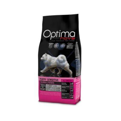 Visán Optimanova Dog Puppy Sensitive Salmon & Potato 2 kg