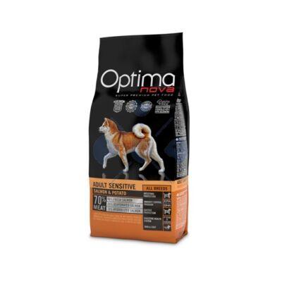 Visán Optimanova Dog Adult Sensitive Salmon & Potato 2 kg