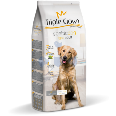 Triple Crown Sbeltic Dog 15 kg testsúly kontroll táp