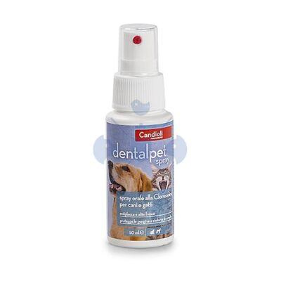Candioli DENTAL PET szájöblítő spray kutyáknak és macskáknak 125 ml