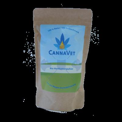 CannaVet Bio Kendermag őrlemény, 325g (Hemp-Seed-Powder)