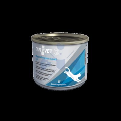 TROVET Hypoallergenic LAMB&RICE Diet / LRD macskáknak  200 g konzerv