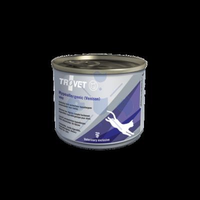 TROVET Hypoallergenic  VENSION&RICE Diet/VRD Macskáknak 200 g konzerv 12 db.
