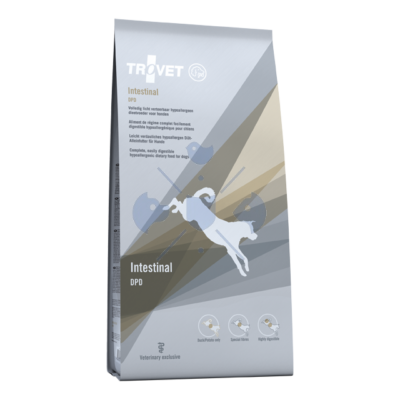 TROVET Hypoallergenic INTESTINAL DUCK&POTATO Diet/DPD  kutyáknak 3 kg 2 DB!