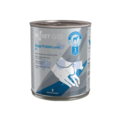 TROVET UNIQUE PROTEIN  LAMB/ UPL  800 g Hipoallergén konzerv kutyáknak és macskáknak 6 db